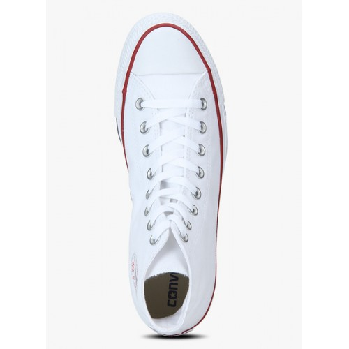 Converse White Canvas High Ankle Sneakers