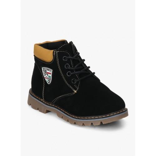 Kittens Black Boots