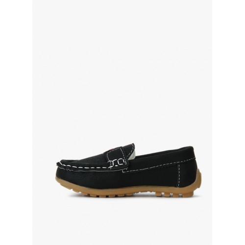 Kittens Black Loafers