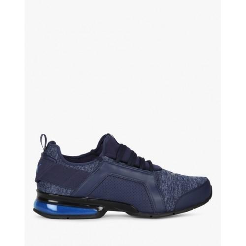 69528cfe2bdeea Buy Puma Men Navy Blue Leader VT Fresh Knit Running Shoes online ...