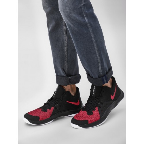 Nike Unisex Black Textile AIR VERSITILE III Basketball Shoes