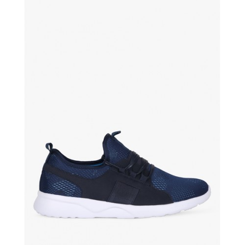 94b3c50ed6 Buy AJIO Knitted Panelled Lace-Up Sneakers online