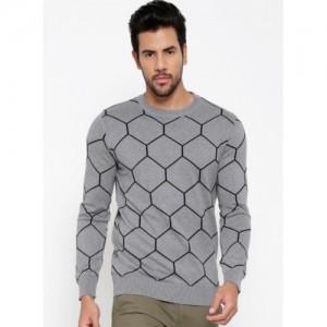 United Colors of Benetton Grey Melange Sweater