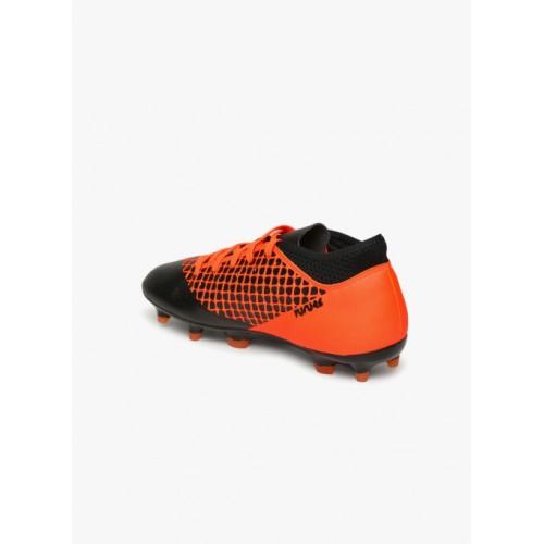 Puma Black & Orange Shoes