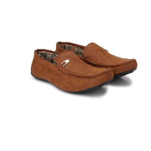 Big Fox Star Loafers For Men(Tan)