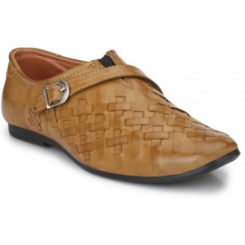 Big Fox Roman Sandal Casuals For Men(Beige)