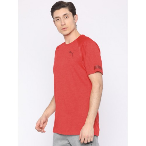9b4e8613924caf Buy Puma Men Red BND Tech SLVS T-shirt online | Looksgud.in