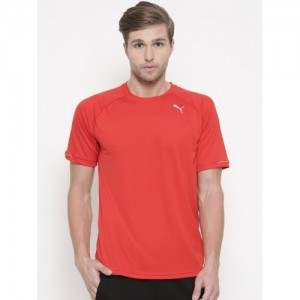 47829ee210ce34 Buy Puma Red Bnd Tech Slvs T-Shirt online | Looksgud.in