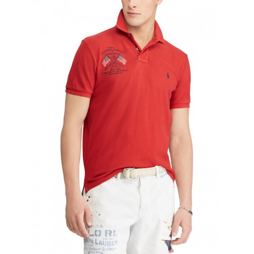 27b01cb4ebc53 Buy Polo Ralph Lauren Custom Slim Fit Mesh Polo Shirt online ...