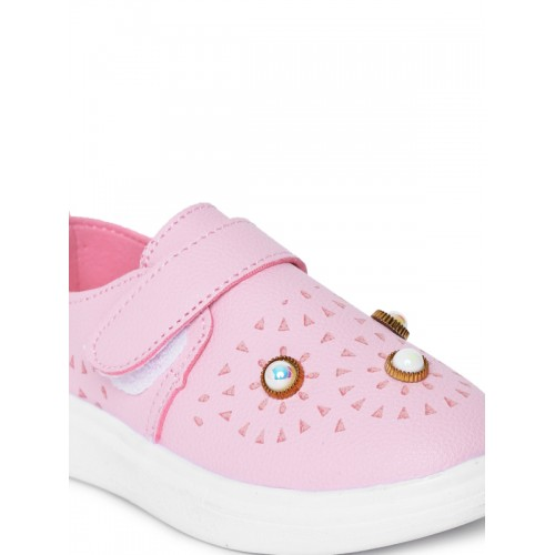 Kittens Pink Synthetic Casual Sneakers