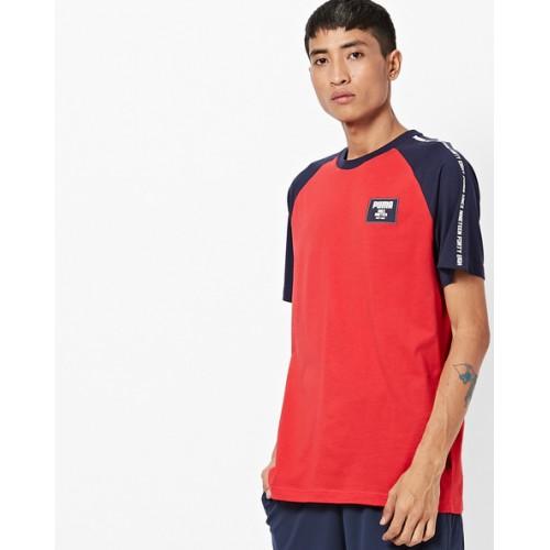 527c1a9453fe Buy Puma Rebel Block Crew-Neck T-shirt online