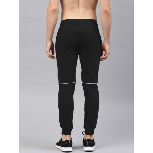 HRX Active by Hrithik Roshan Black Cotton Joggers