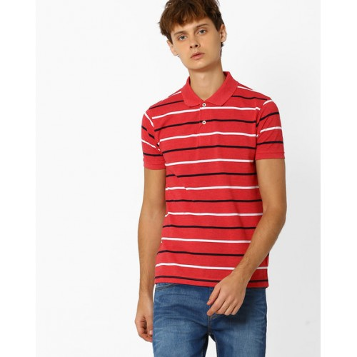 66095784a Buy NETPLAY Striped Polo T-shirt online | Looksgud.in