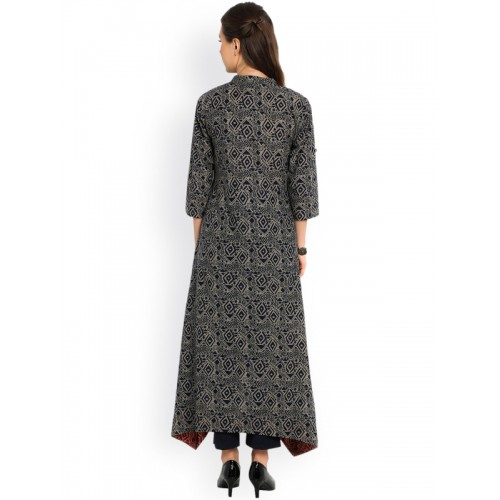 indibelle cotton C-Cut Long kurta