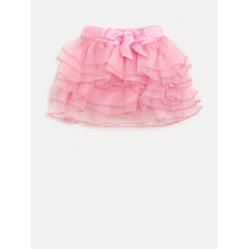 a36f1da678 Buy Gini and Jony Girls Pink Cotton Frilled Skirt online | Looksgud.in