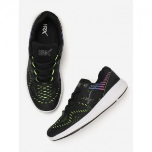 HRX by Hrithik Roshan Women Black Running Shoes