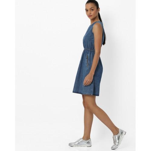 152ecb7212 Buy Alibi Denim Fit   Flare Dress with Zip Pockets online
