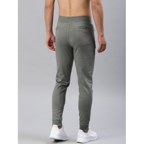 HRX by Hrithik Roshan Grey Solid TrackPant