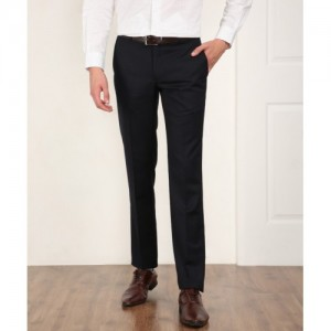 Raymond jacov Slim Fit Men's Black Trousers