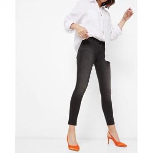 WRANGLER Mid-Rise Ankle-Length Slim Fit Jeans