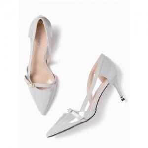 DressBerry Women Grey Synthetic sandals