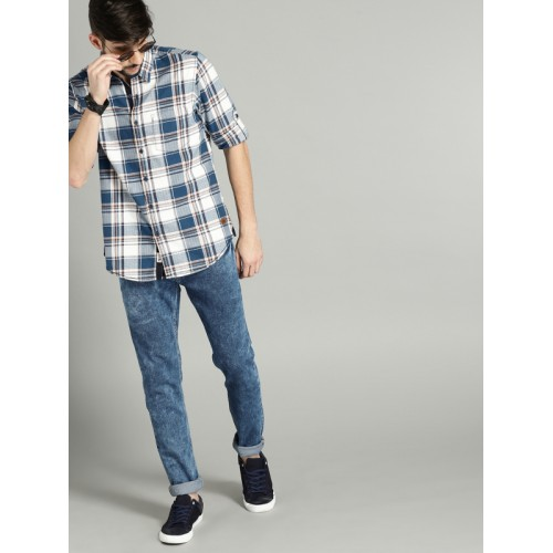 Roadster Men Blue Mid-Rise Stretchable Jeans