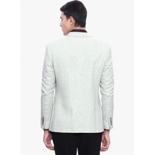 SUITLTD Light Grey Solid Blazer