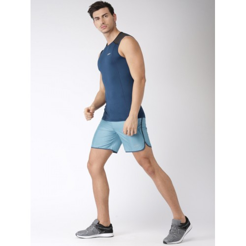 2GO Men Blue Training Sports Shorts