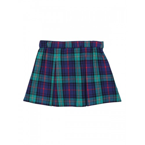 d9b46f0801 Buy Beebay Green & Blue Cotton Checked A-Line Skirt online | Looksgud.in