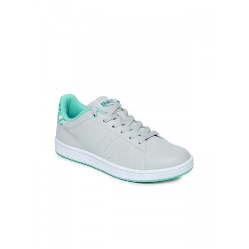 361 Degree Women Grey Skateboarding Shoes