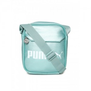 d02dbea25aa2 Puma Unisex Metallic Blue Printed Campus Portable Messenger Bag