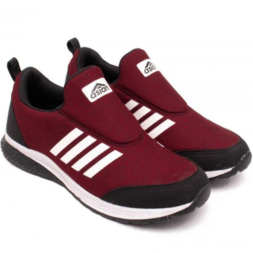 Asian Prime-07 Maroon Running Shoes For Men