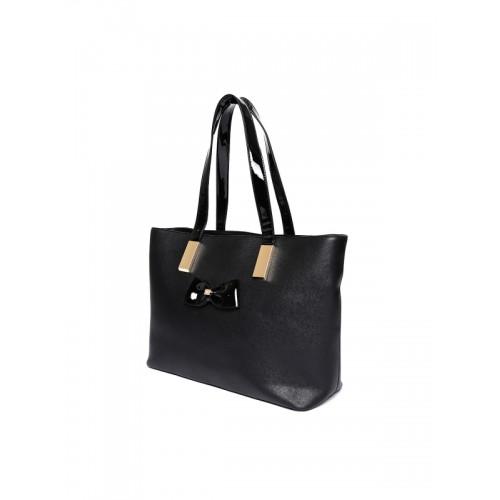 Dune London Black Solid Shoulder Bag