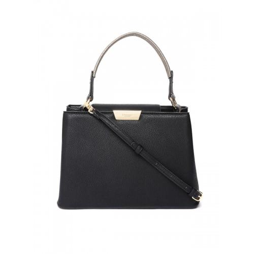 Dune London Black Solid Handheld Bag