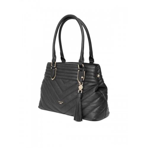 Dune London Black Quilted Shoulder Bag