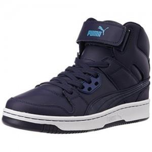 Puma Men's PumaReboundStreetL Leather Sneakers