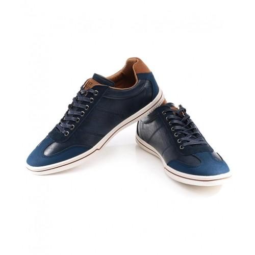 Buy Numero Uno Navy Blue Casual Shoes