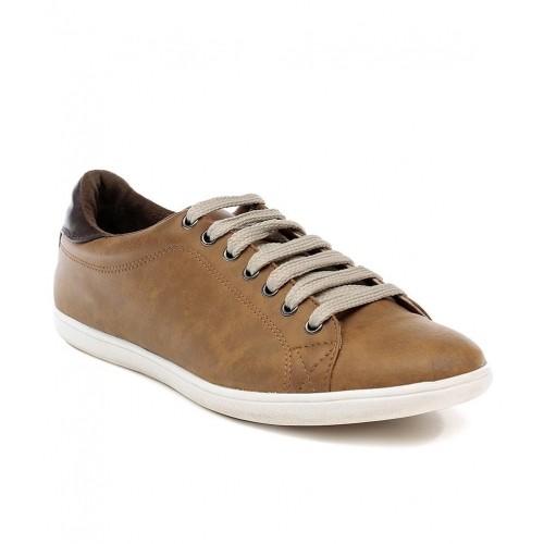 b63bfba1ee69 Buy Franco Leone Tan Men Casual Shoes online