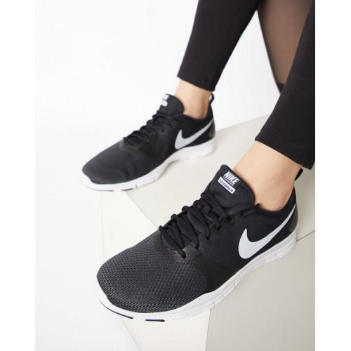 a46000d2d5 Buy NIKE Flex Essential TR Black Sports Shoes online | Looksgud.in