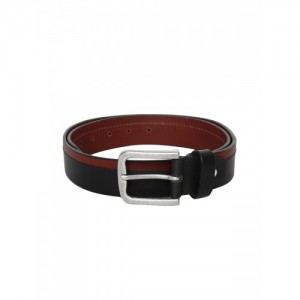 Roadster Brown Leather Colorblocked Belt