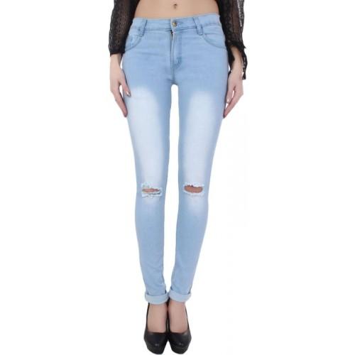 Ansh Fashion Wear Regular Women Blue Jeans