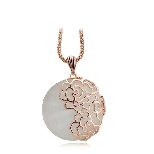 Valentine Gifts :YouBella Jewellery Gracias Collection Designer Pendant / Necklace for Women and Girls