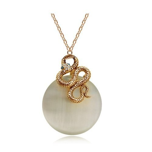 YouBella Jewelry Valentine Collection Gold Plated Pendant Necklace Jewellery Women and Girls