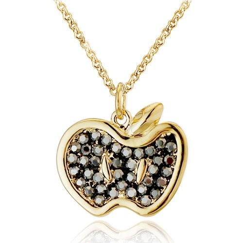 Valentine Gifts :YouBella Gracias Collection Designer Apple Pendant / Necklace for Women and Girls