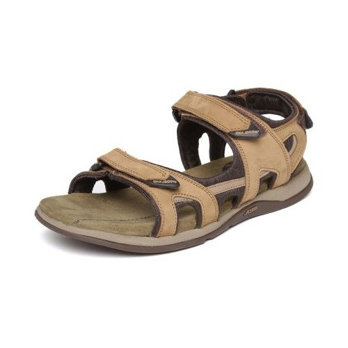 9a69c3796be Woodland Men Camel Leather Sandals  Woodland Men Camel Leather Sandals ...