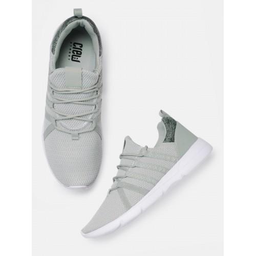 Crew STREET Men Grey Running Shoes