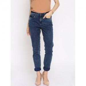 Vero Moda Women Blue Regular Fit Stretchable Jeans