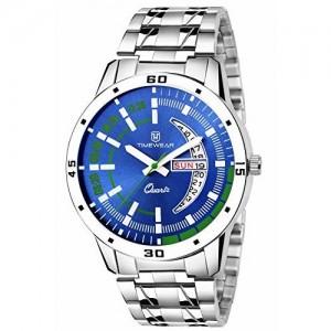 Lois Caron  LCS-8075 Blue Dial Chain Watch