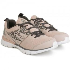 b4a842f2b1ca84 REEBOK Beige Mesh Running Shoes For Women