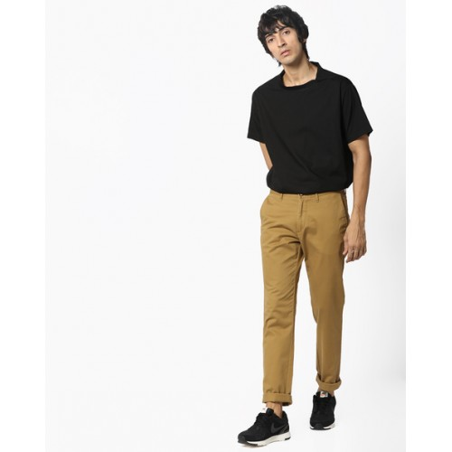U.S. Polo Assn. Flat-Front Slim Fit Trousers
